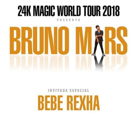 Bruno Mars visitará México con su gira 24K Magic World Tour
