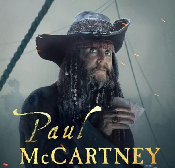 "Paul McCartney participará en ""Piratas del Caribe"""