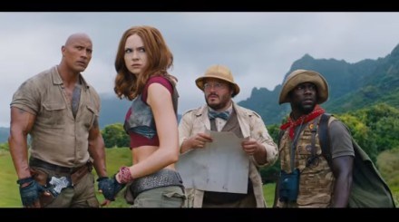 "Sony Pictures lanzó el trailer de ""Jumanji: Welcome to the jungle"""